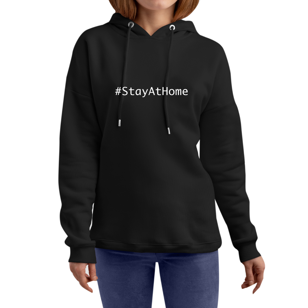 Stay At Home Frauen Hoodie Luxemburg