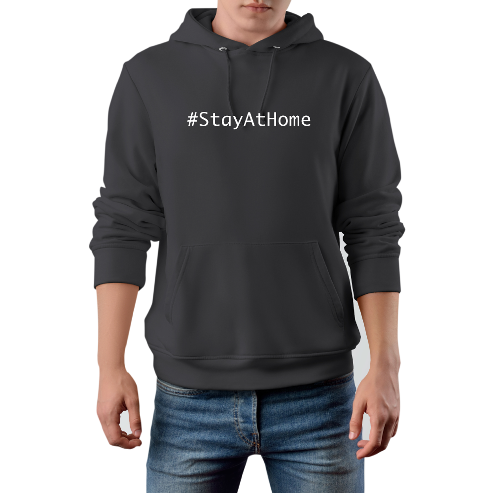 Stay at home Männer Hoodie Luxemburg