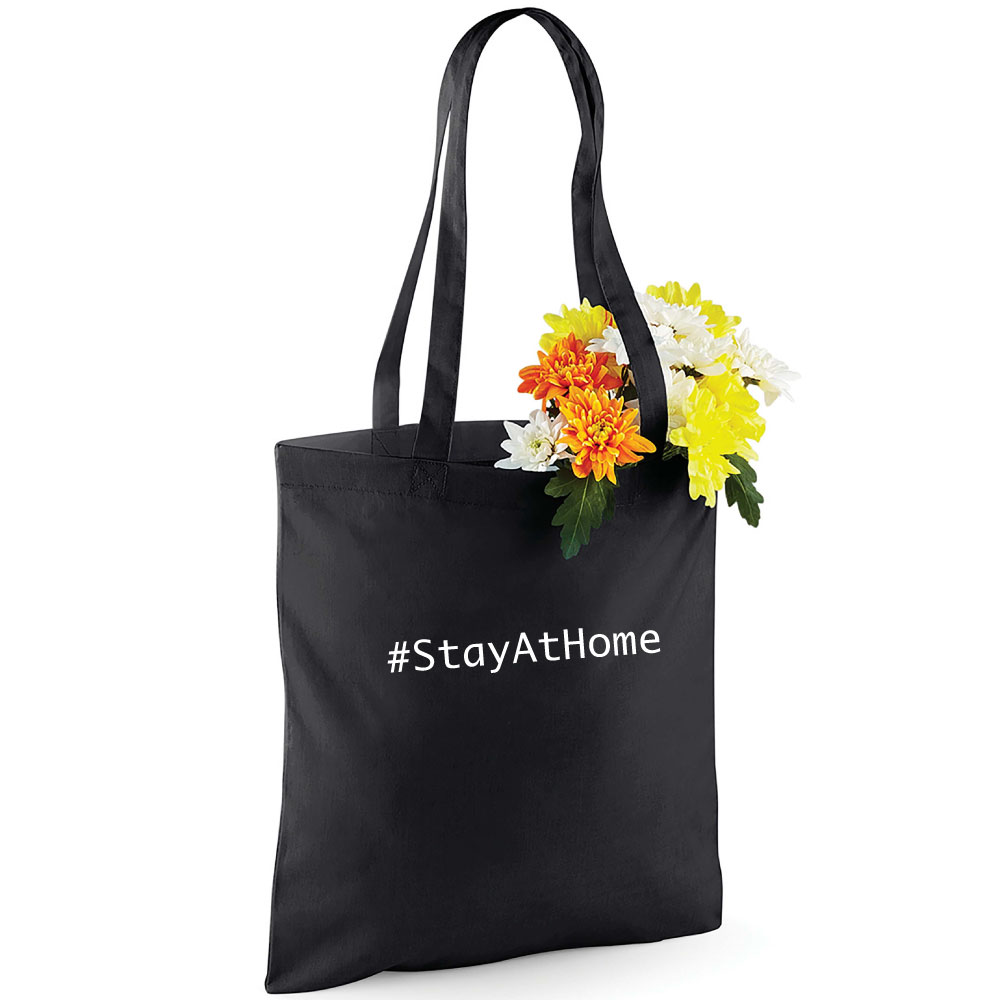 Stay At Home Stofftasche Luxemburg