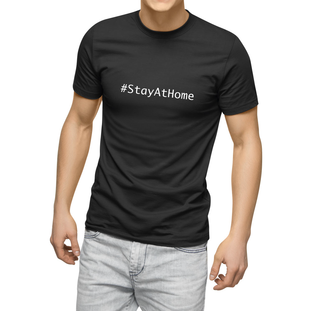 Stay At Home Männer Tshirt Luxemburg